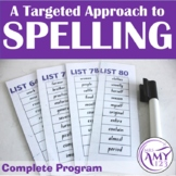 Complete Spelling Program-Lists, activities, grids, and more!