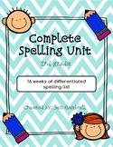 Complete Spelling Unit