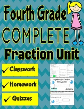 Fourth Grade Fraction Unit