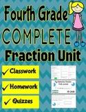 Fourth Grade Fraction Unit