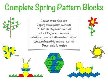 Complete Spring Pattern Blocks