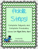 Complete Subject and Complete Predicate Fiddle Strips!