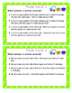 Complete Subject and Complete Predicate Task Cards