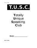 Complete T.U.S.C (TUSC) Book with Roles and Worksheets