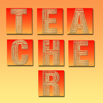Complete TEACHER Letter Set - Seven Files