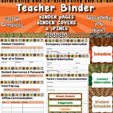 Complete Teacher Binder / Planner APT-001