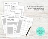Complete Teacher Planner: Lesson Plan - 65 PAGES (Letter Size)