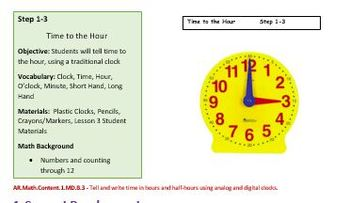 Complete Telling Time Unit