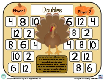 Complete Thanksgiving Collection Of Turkey Games To Practice Addition Strategies