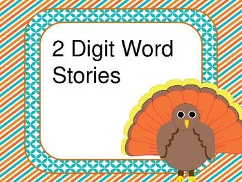 Thanksgiving Math Stories- complete set