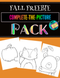Complete-The-Picture FREEBIE! Fall Fun