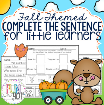 Complete The Sentence : Fall Themed