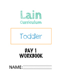 Complete Toddler Curriculum (DAY 1)