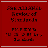 Complete U.S History GSE EOC/Milestones Review ALL SSUSH D