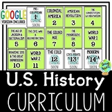 Complete US History Curriculum, American History Curriculum, Bundle