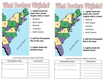 4TH GRADE- VA Studies Notebook Set
