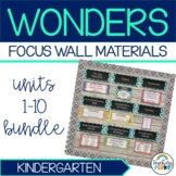 Complete Wonders Focus Wall Materials {Kindergarten}