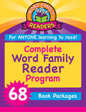 Complete Word Family Readers Program