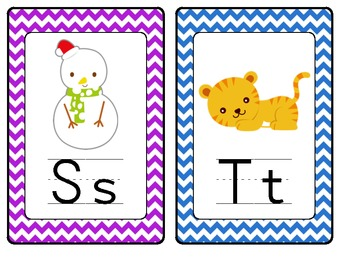 Complete Word Wall: Chevron (sight words too!)