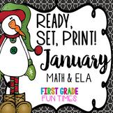 Winter Activities Ready, Set, Print | New Years Activities 2019