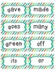 Complete Word Wall Set: 2nd Grade Dolch word cards & ABC headers