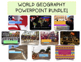 Complete World Geography PowerPoint Bundle!