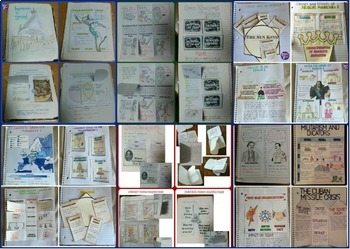 Complete World History 2 Interactive Notebook Bundle