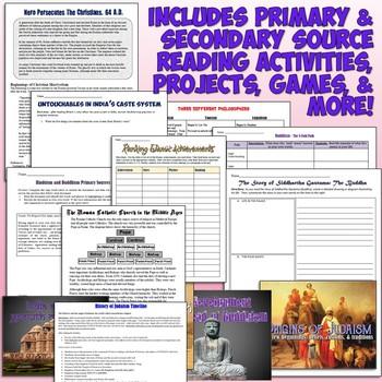 Complete World Religions Unit Bundle