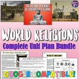 World Religions Complete Unit Bundle