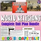 World Religions Complete Unit Bundle