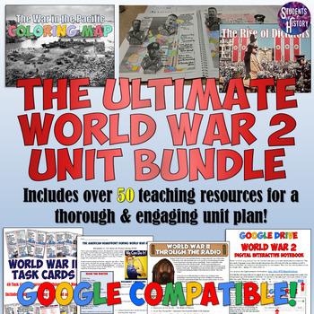 World War 2 Complete Unit Plan Set
