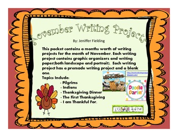 Complete Writing Projects for November