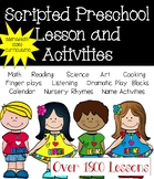 Preschool Curriculum: Scripted Lessons and Hands-on Activities (12 Unit Bundle)