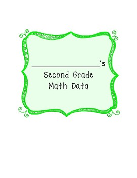 Complete Yearly Math Assessment Book - EDITABLE!
