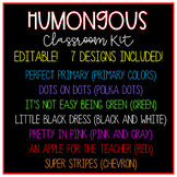 Humongous Bundle! 100s of printables for decorating, organizing, and teaching!