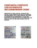 Complete and Incomplete Metamorphosis Comic