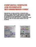 Complete and Incomplete Metamorphosis Comic