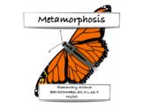 Complete and Incomplete Metamorphosis - FCAT Science