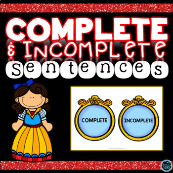 Complete and Incomplete Sentence Sort