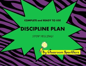 Complete and Ready to Use Discipline Plan: Stop Yelling!