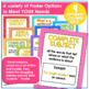 Simple Subject & Predicate Task Cards Complete Subject & Predicate Poster