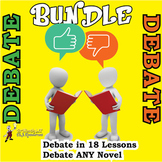 Debating unit bundle- detailed plans for 30 fun lessons!