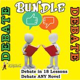 DEBATING UNIT BUNDLE: 30 DETAILED LESSON PLANS