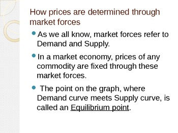 Complete lecture on Demand and Supply, Price, Equilibrium & Shifts.