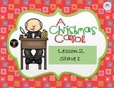 A Christmas Carol Stave 1 lesson 2