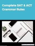 Complete list of SAT and ACT grammar rules