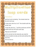 """Multiplication """"I have, who has"""" - Complete set from x2 - x12"""