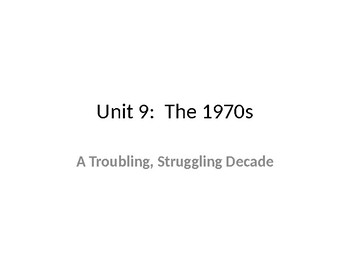 Complete set of U.S. History PowerPoints (Gilded Age Throu
