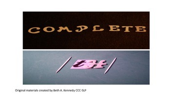 Complete /th/