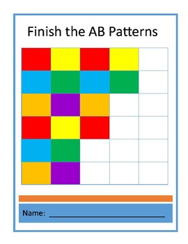 Complete the AB Patterns